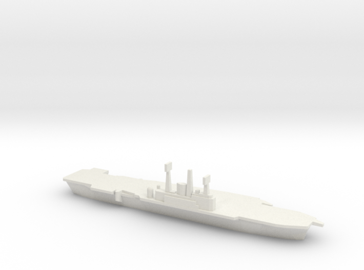 HMS Ark Royal R09, 1977 Refit, 1/1800 3d printed