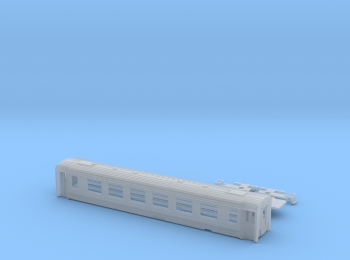 Passenger car type A-2L w/bogie 3d printed