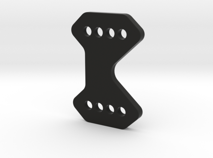 2616-1 - REAR WING MOUNT 3D WEDGE 3d printed