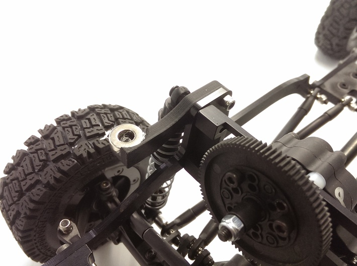 CrossCanyon JKU Front Left Brace 3d printed
