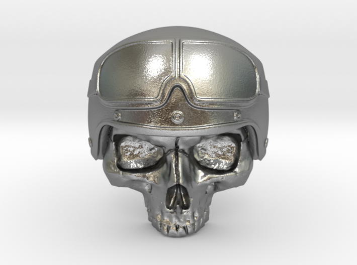 Motorbike Skull 3d printed