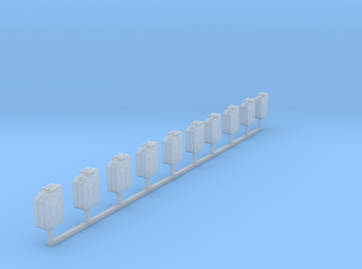 1:87 jerry can Kanister Bund set 10 3d printed