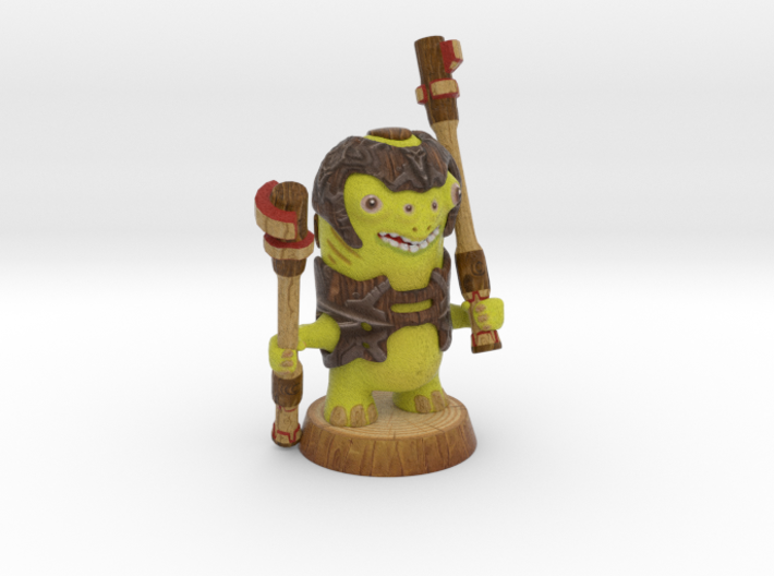 BUMBLING WARRIOR 3d printed