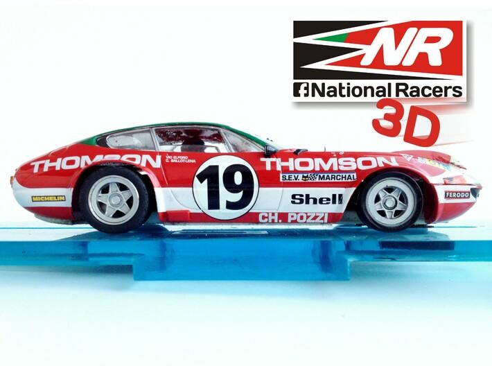 3D chassis - Fly Ferrari 365 GTB (Combo) 3d printed