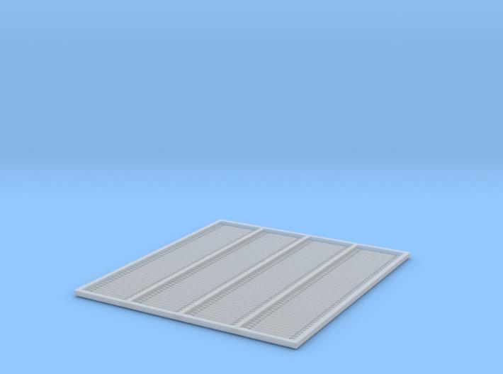 HO Fishplates - 6 Hole X 200 3d printed