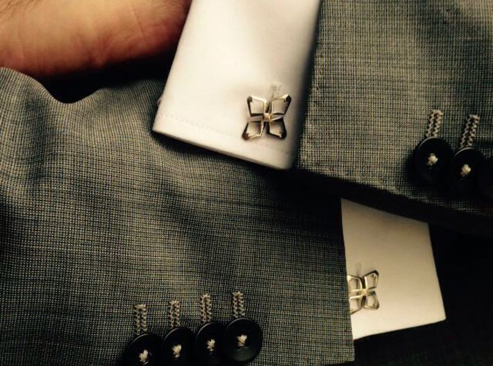 HEAD TO HEAD Ahead , Cufflinks 3d printed