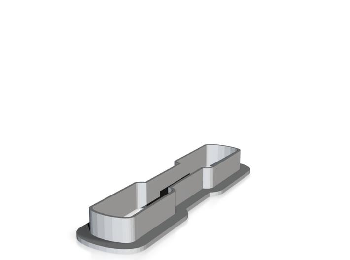 Jugger Q-tip cookie cutter 3d printed