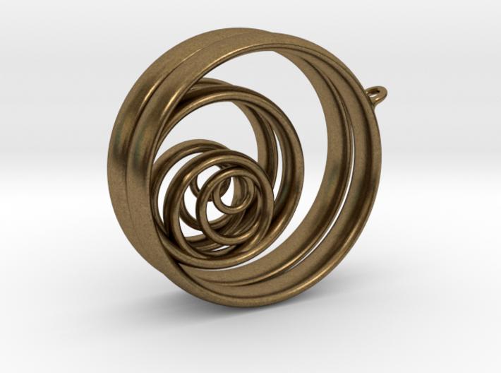 Aurea_Earrings_2 3d printed