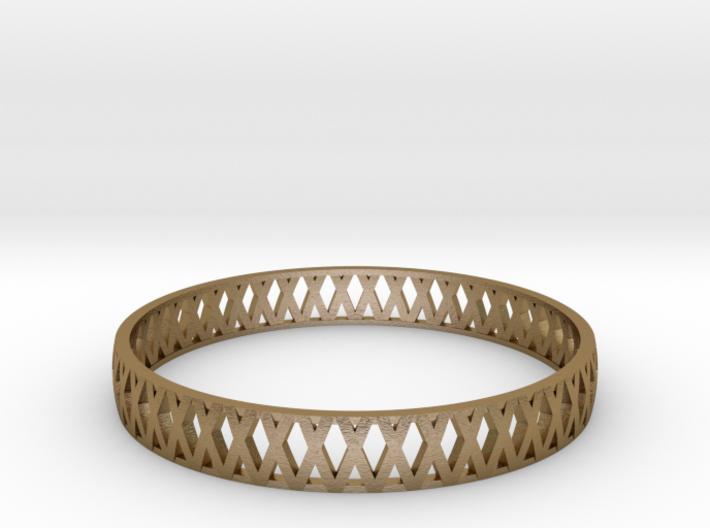 Crossed Bracelet  3d printed