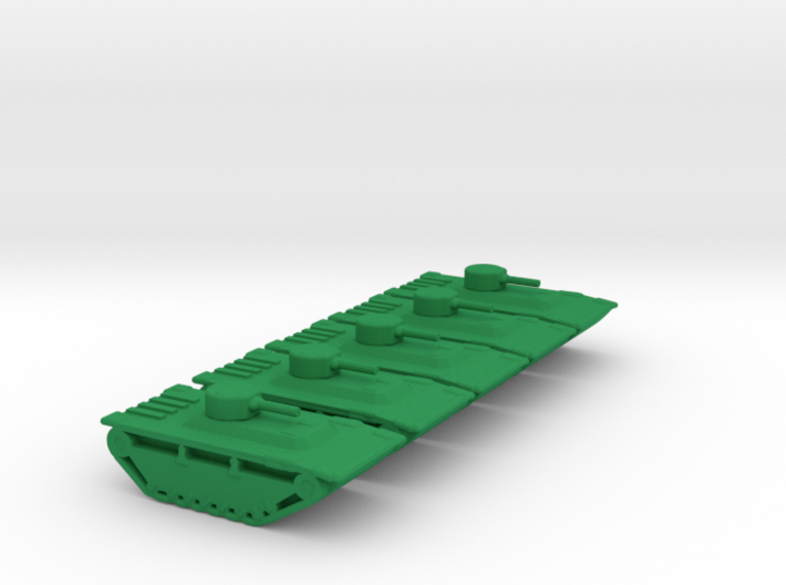 1/285 Scale LTVP4 Set Of 5 3d printed
