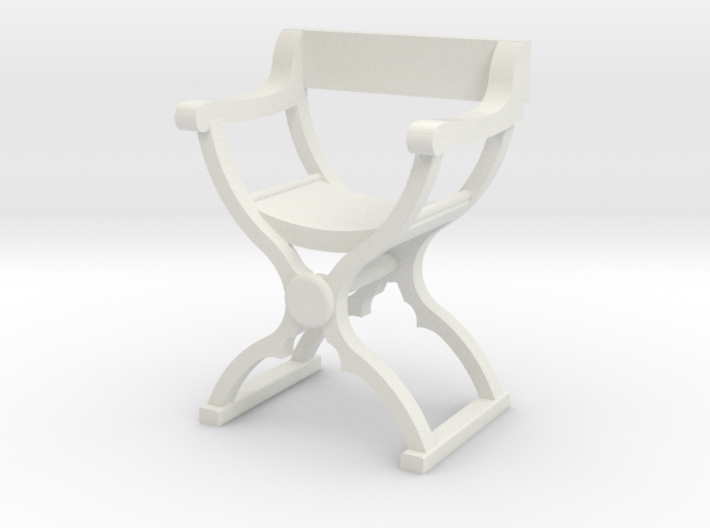1:50 Savonarola Chair 3d printed