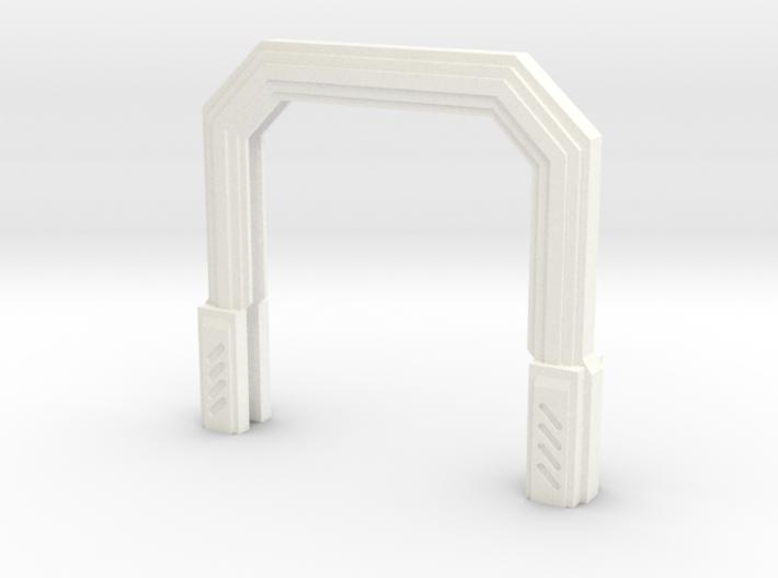 Imperial Assault Door Stand 3d printed