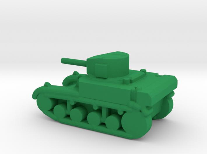 1/285 Scale Stuart M3A1 Light Tank 3d printed