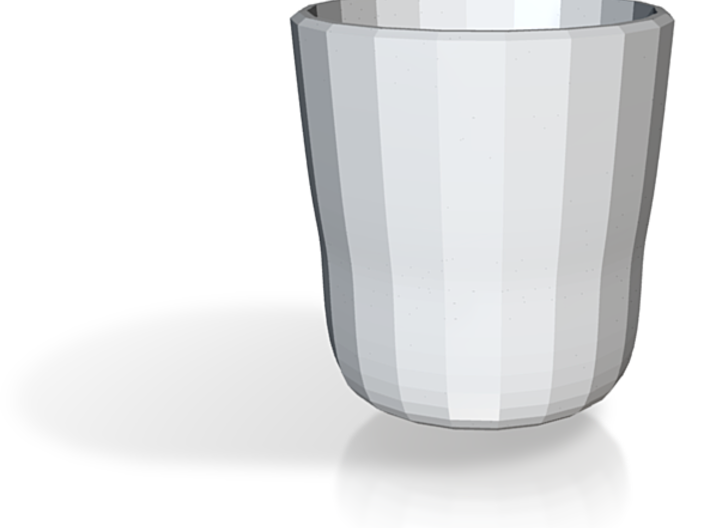 full sized flared pot bellied pimpernel cup 3d printed