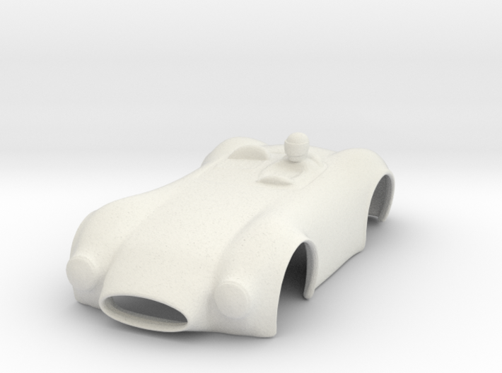 HO Slot Car Shell - Fits Aurora AFX/AutoWorld 3d printed