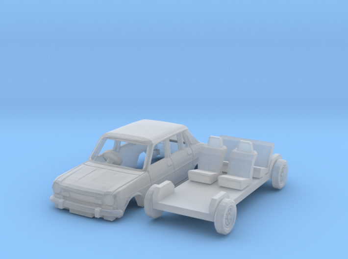 Simca 1100 TI (British N 1:148) 3d printed