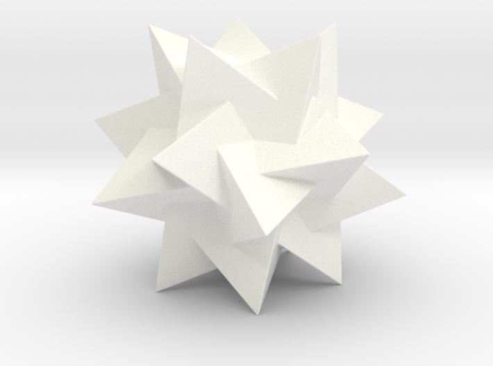 FIVE TETRAHEDRA COMPOUND 3d printed