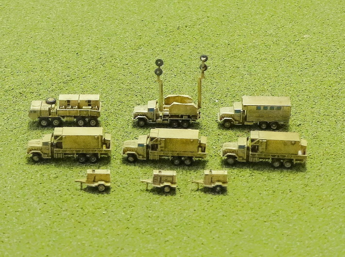 MIM-104 Missile Battery Trucks 1/285 3d printed