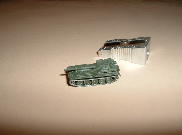Su-101 Uralmash 1/285 6mm 3d printed
