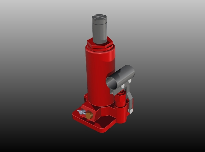 Hydraulic-Car-Jack - 1/10 3d printed