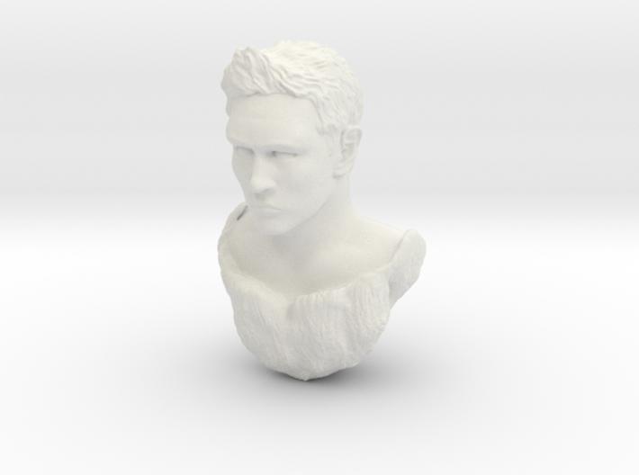 matt head sculpt 3d printed