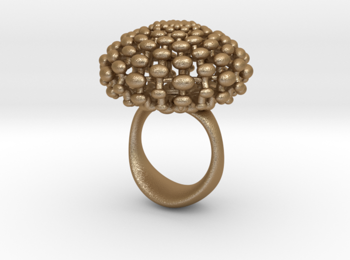 BRASS RING SIZE7 3d printed