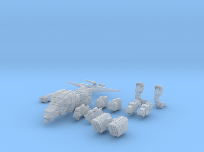 CQ-SRA-0 Alt C (scaled) 3d printed