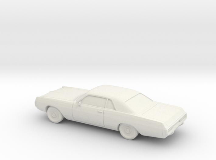 1/64 1971-72 Dodge Polara Coupe 3d printed