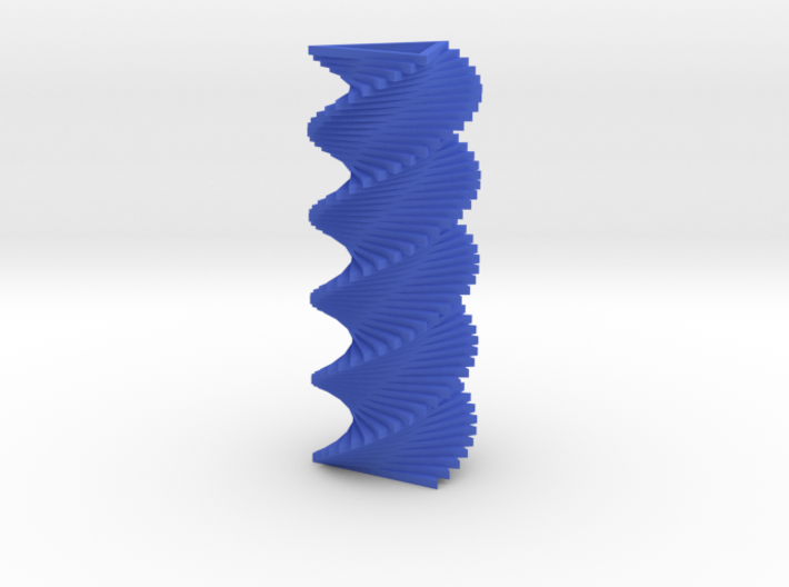Triangle Spiral 3d printed