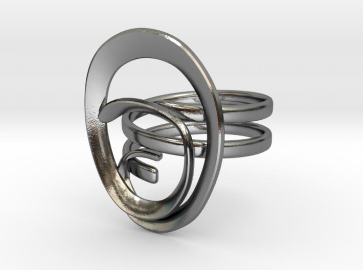Anello Conchiglia Ring Shell 3d printed