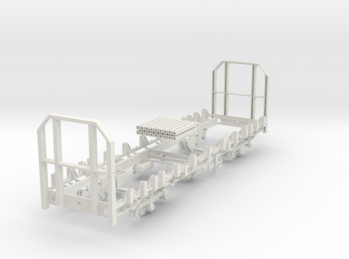 7mm OTA timber wagon high end 3d printed