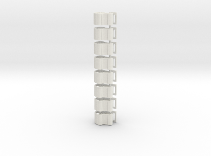 Zippertubcl8pack 3d printed