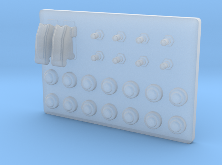 Button Box Type 1 - 1/10 3d printed