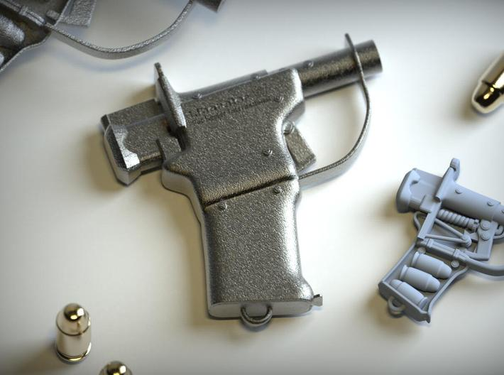 Liberator W 3d printed Photo of Stainless Steel#1