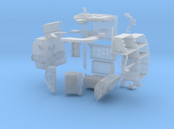 A05 To 11-FUD-MS Interior 3d printed
