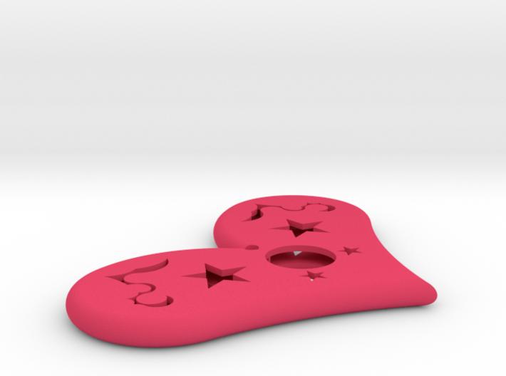 Kiss me 3d printed
