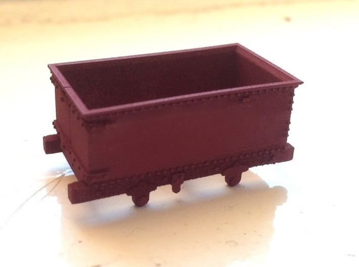 009 Corris Rly 'Queen Mary' 3d printed