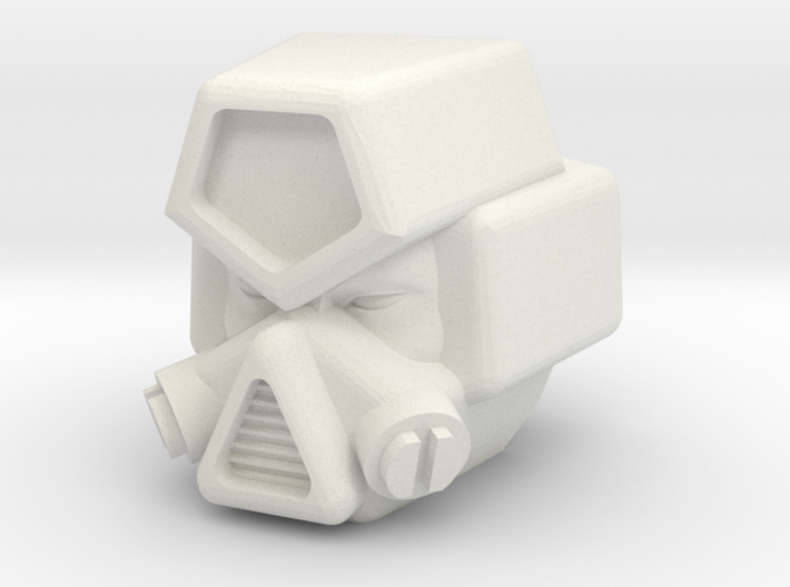 IDW Strika head for CW Motormaster 3d printed