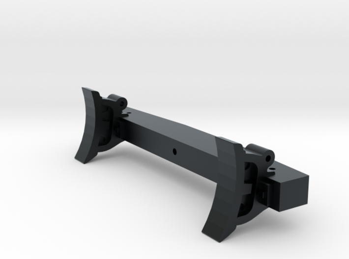 Portland Co. Brake Shoe With Beam .625 3d printed Portland Co. Freight Truck Brake Beam