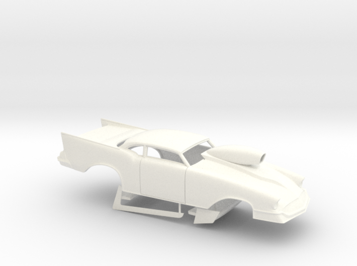 1/32 57 Chevy Pro Mod W Scoop 3d printed