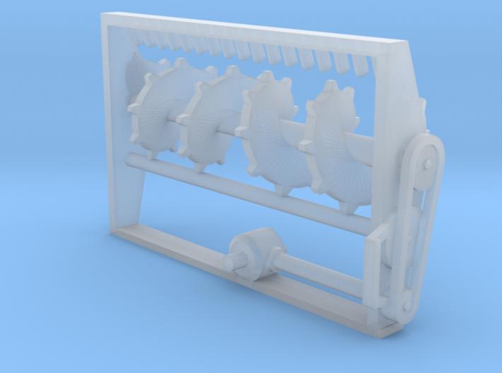 Unimog Streuer Streuwerk 3d printed