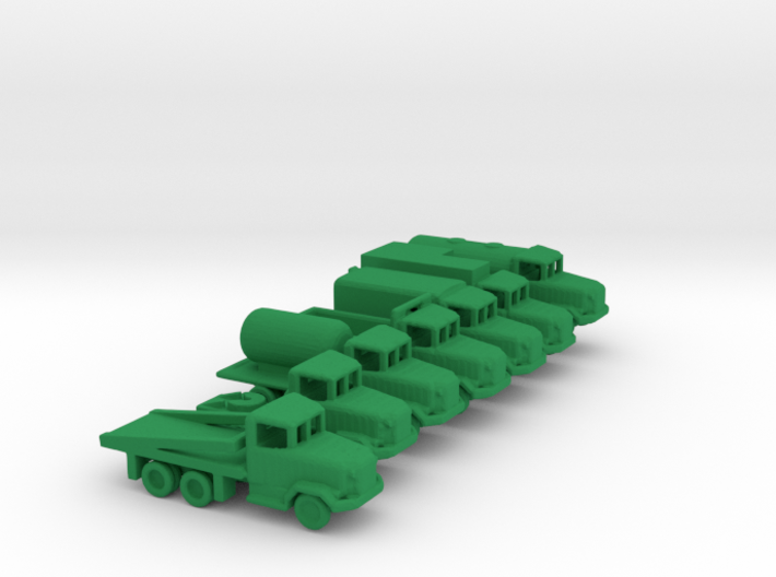 1/285 Scale M35 Truck Set 3d printed