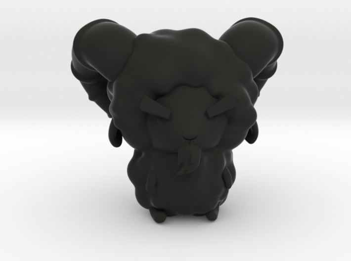 Chibitized! Hades 3d printed Black as himself