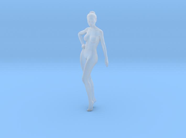 Mini Sexy Woman 036 1/64 3d printed