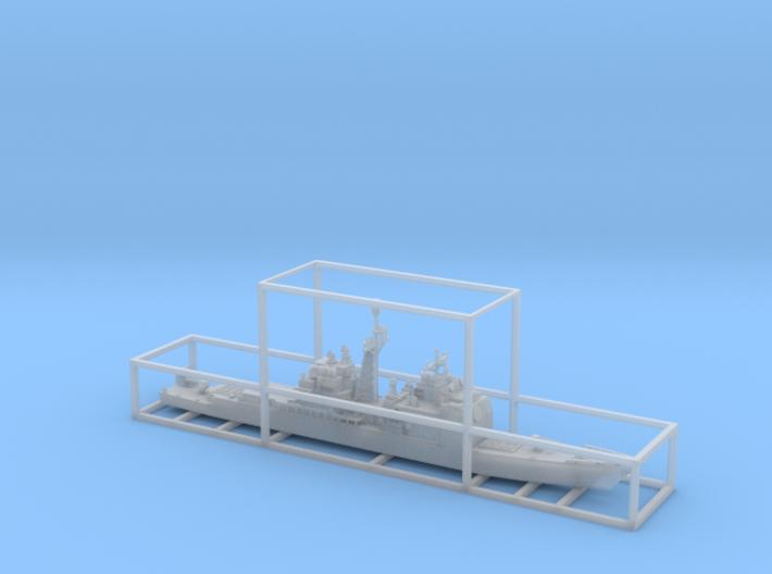 1/2000 USS Bunker Hill  3d printed
