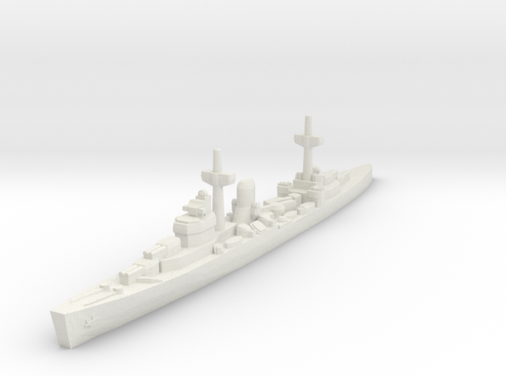 Leander class (WWII) 1/1800 3d printed