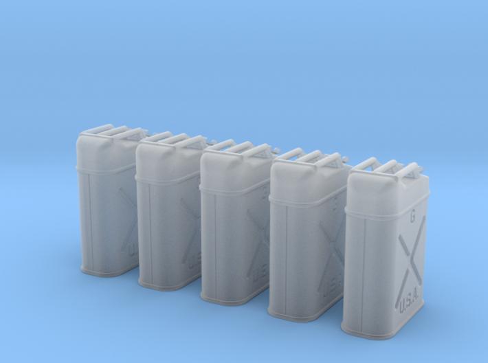 1-30 US Jerrycan 5 Units FUD 3d printed