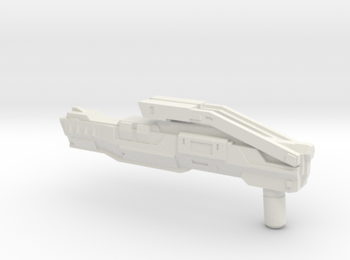 """KAZ-12"" Transformers Weapon (5mm post) 3d printed"