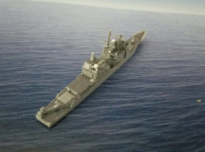 1/2000 USS Bunker Hill  3d printed painted