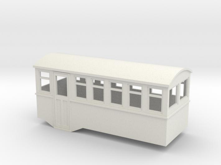 HOe 4w railbus trailer 3d printed